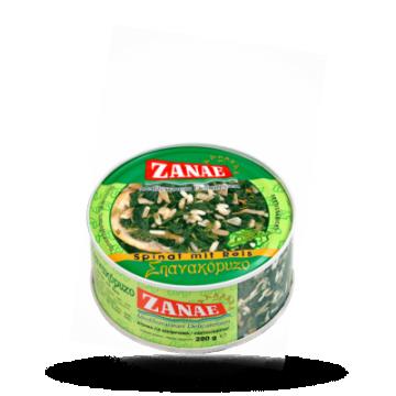 ZANAE Spinazie met rijst