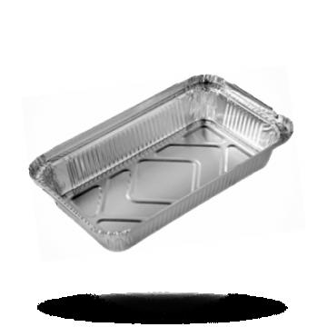 Aluminium bakjes