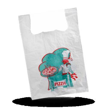 Pizza draagtassen