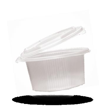 Ripboxx Saladebakje met klapdeksel