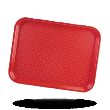Kristallon Dienblad rood