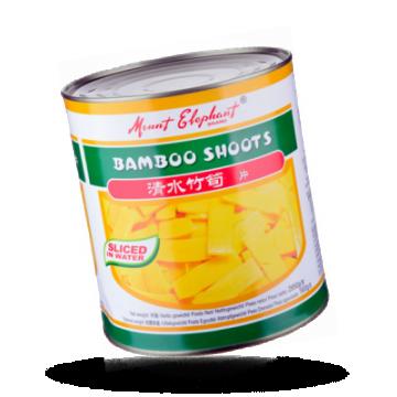 Bamboe schijfjes