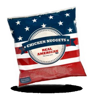 Real American Chicken nuggets Halal
