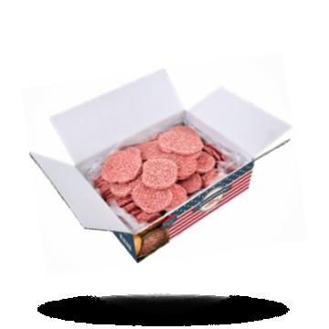 Real American Gekruide hamburgers