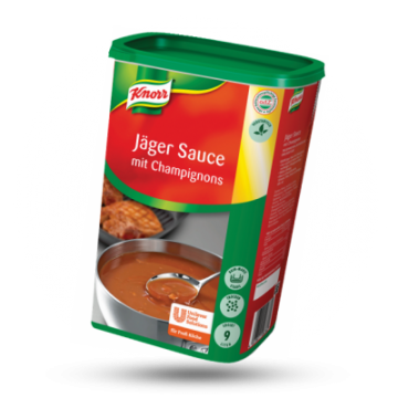 Knorr Jachtsaus met champignons