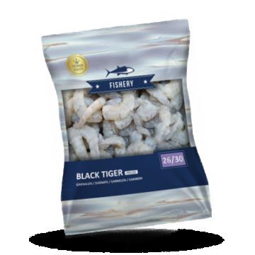 Fishery Black Tiger garnalen