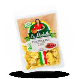 Tortellini Italiaanse pasta met vleesvulling