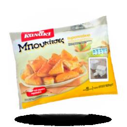 Mini-kaaspasteitje Bladerdeeg met kaas, ca. 40st, diepvries