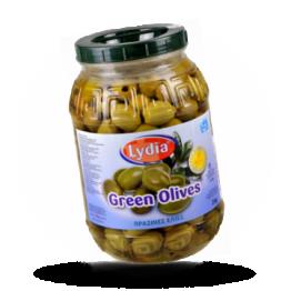 Groene Griekse olijven Super collosal, zonder pit