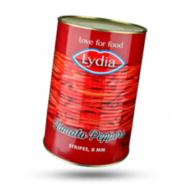 Tomatenpaprika reepjes 8mm