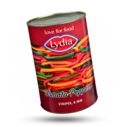 Gemengde tomatenpaprika 8mm in reepjes