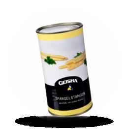 Geschilde aspergestukken Met kop