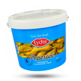 Griekse peperoni No. 1 mild van smaak