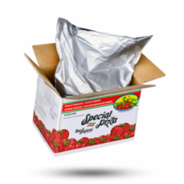 Due Fagiani Italiaanse tomatenpulp 6x6mm Bag in Box