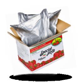 Italiaanse tomatenpulp 6x6mm Bag in Box