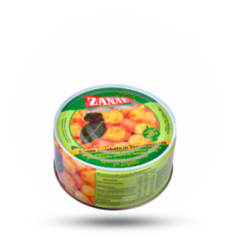 Stifado Kleine uien in tomatensaus