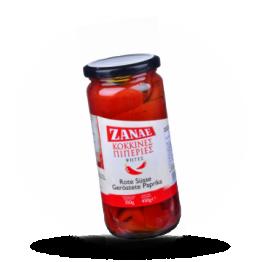 Geroosterde paprika Rood
