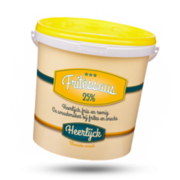 Fritessaus Romig & Fris, 25%