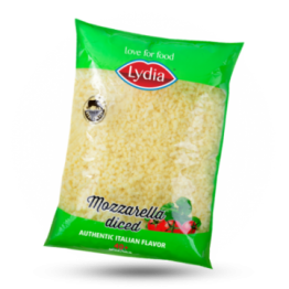 Mozzarella blokjes 40%