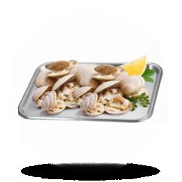 Venusmosselen 40/60, in de schelp gekookt, diepvries