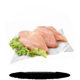 Kipfilet zonder vet 140g+, Halal, Brazilië, diepvries