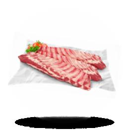 Spareribs Kalfsvlees, diepvries