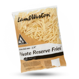 Private Reserve Fries F62 6x6mm diepvries