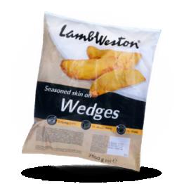 Skin on wedges W01 Seasoned diepvries