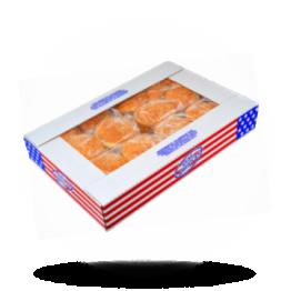 Hamburgerbroodjes Met sesam, voorgesneden, diepvries