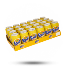 Fanta Lemon Zero Met natuurlijke aroma's