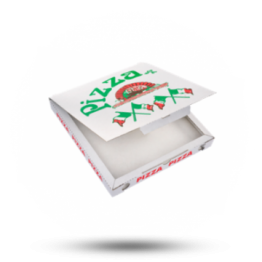 Pizzabox 20x20x3cm, C., Italiaanse vlag