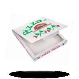 Pizzabox 24x24x3cm, C., Italiaanse vlag