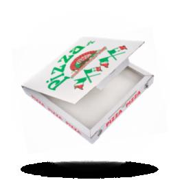 Pizzabox 26,5x26,5x3cm, C., Italiaansevlag
