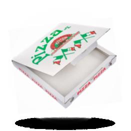 Pizzabox 29x29x3cm, C., Italiaanse vlag