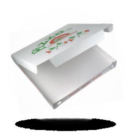 Pizzabox 45x45x5cm, Fam., Kraft