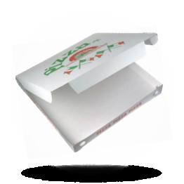 Pizzabox 50x50x7cm, Fam., Kraft