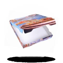 Pizzabox 28x28x4 cm, Fr. Kraft