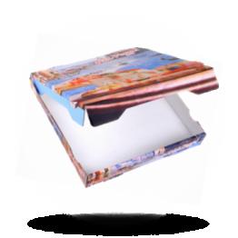 Pizzabox 32x32x4cm, Fr., Kraft