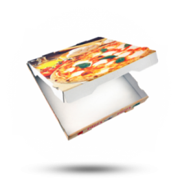 Pizzabox 20x20x4,2cm Francia Kraft