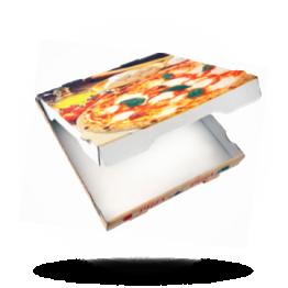 Pizzabox 24x24x4,2cm Francia Kraft