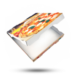 Pizzabox 32x32x4cm Francia Kraft
