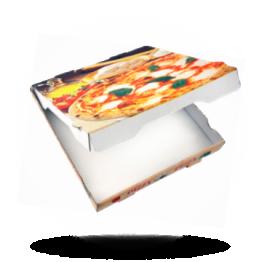Pizzabox 36x36x4cm Francia Kraft