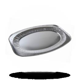 Aluminium cateringschalen Ø 35cm SP ovaal