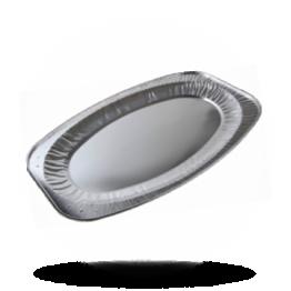 Aluminium cateringschalen Ø 55cm ovaal