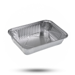 Aluminium bakjes 850g