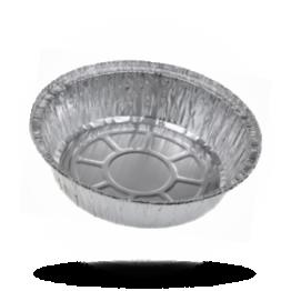 Aluminium bakjes Rond, 790cc, Ø 17cm / 44mm Hoog (C801)