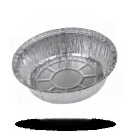Aluminium bakjes Rond, 1025cc, Ø 20cm / 40mm Hoog