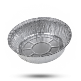 Aluminium bakjes C 1000 L, rond, Ø 20cm