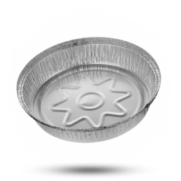 Aluminium bakjes C1450L, rond, Ø 23cm