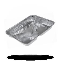 Aluminium menubakken 775/R 760G, 3-vaks